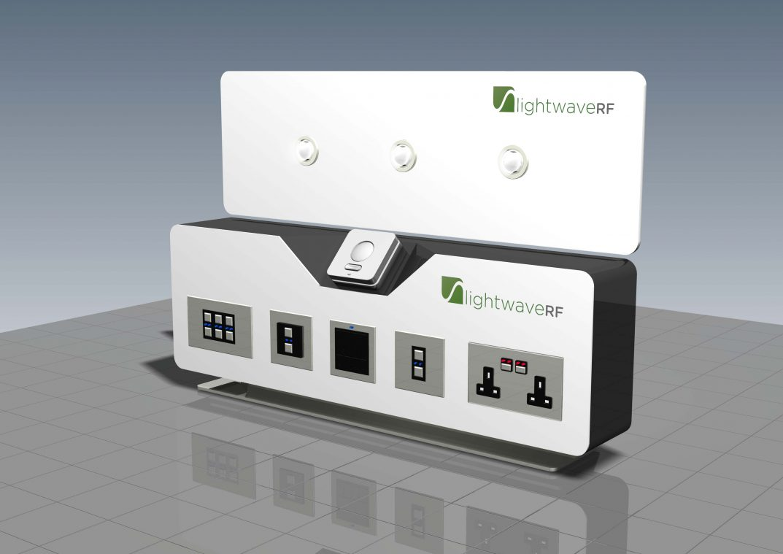 Lightwave RF portable display